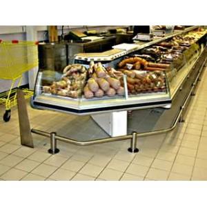 Отбойники из нержавейки в супермаркете Инокс Трейд ПНС-36