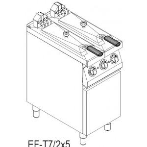 Фритюрница электрическая Kogast EFT7/2x5