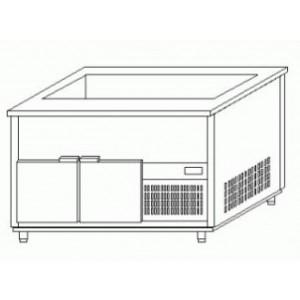 Стол холодильный* MAWI LS 813/700/850