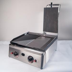 Жарочная поверхность электрическая настольная с прижимной крышкой Baysan G30450