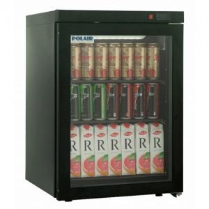Шкаф холодильный Polair DM102 Bravo черный с замком
