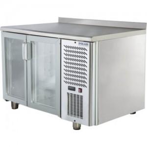 Стол холодильный со стеклянными дверями Polair TD2-G