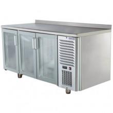 Стол холодильный со стеклянными дверями Polair TD3-G