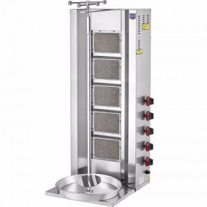 Аппарат для шаурмы газовый Remta D09 LPG 5 горелок