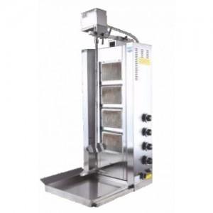 Аппарат для шаурмы газовый Remta D16 LPG 4 горелки с приводом