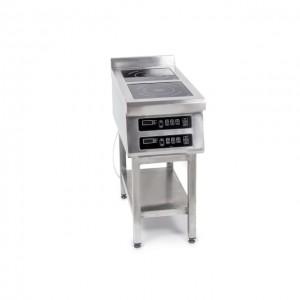 Плита индукционная Техма 2-х конфорочная 3,5 кВт напольная (400х800х850)