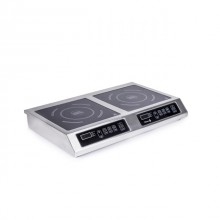 Плита индукционная Техма 2-х конфорочная 2,8 кВт настольная (710х445х110)