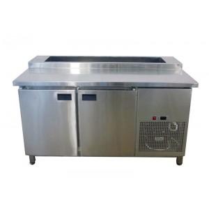 Стол холодильный саладетта Tehma 2-х дверный