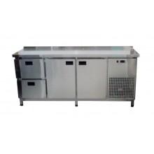 Стол холодильный Tehma 2 двери + 2 ящика (1860х600х850)