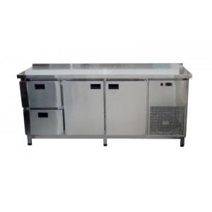 Стол холодильный Tehma 2 двери + 2 ящика (1860х700х850)
