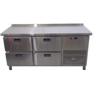 Стол холодильный Tehma 4 ящика (1400x600х850)