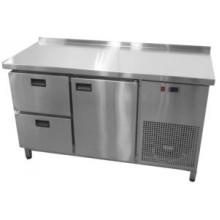 Холодильный стол Tehma 1 дверь + 2 ящика (1400х600х850)