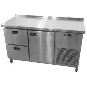 Холодильный стол Tehma 1 дверь + 2 ящика (1400х700х850)