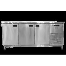Холодильный стол Tehma 3 двери (1860х600х850)