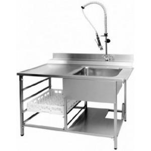 Стол производственный для грязной посуды Инокс Трейд СГ-1