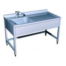 Ванна моечная производственная на 1-ну ванну (1000х500х850)