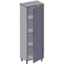 Шкаф на 1-ну распашную дверь Инокс Трейд ШД-1