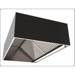 Зонт вытяжной пристенный прямоугольный (2000х500х400)